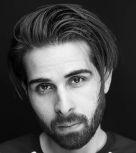Flowing Medium-Length Hair + Beard
