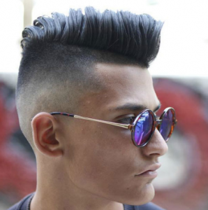 Modern Undercut + Shape Up + Thick Comb Over