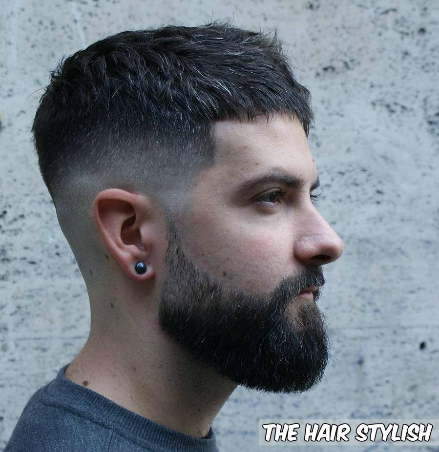 Short Hair Style For Mid Fade Beard The Hair Stylish