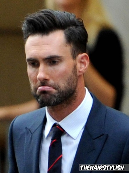 Adam Levine haircut