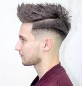 Men's Haircut with Cropped Quiff