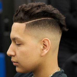 Undercut Fade with Hard Part