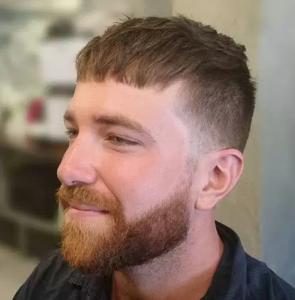 caesar haircut ideas for men  men's hairstyles  haircuts