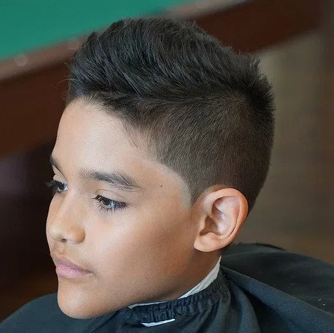 Short Spiky Haircut For Teenage Boys The Hair Stylish