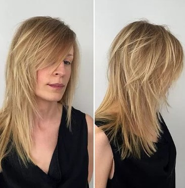 15 Hairstyles for Long Thin Hair - The Hair Stylish 15 Picture ...