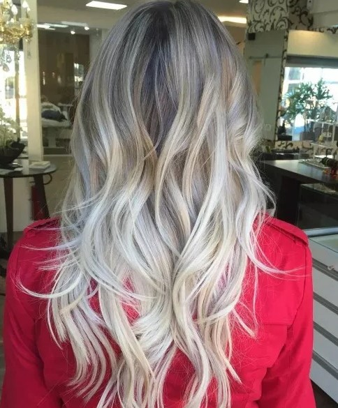 Wavy Hairstyle With Long Choppy Layers The Hair Stylish