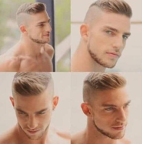 Military Fade Haircut Men The Hair Stylish