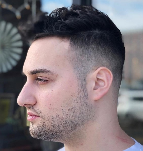 Short Buzz Haircuts For Men