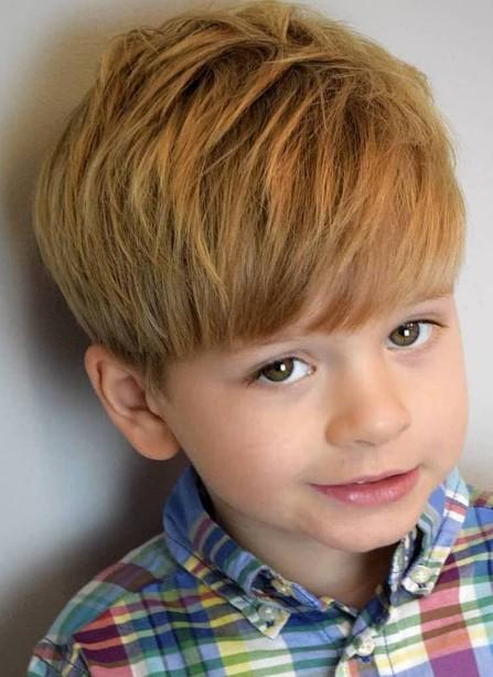 latest hair style for boys