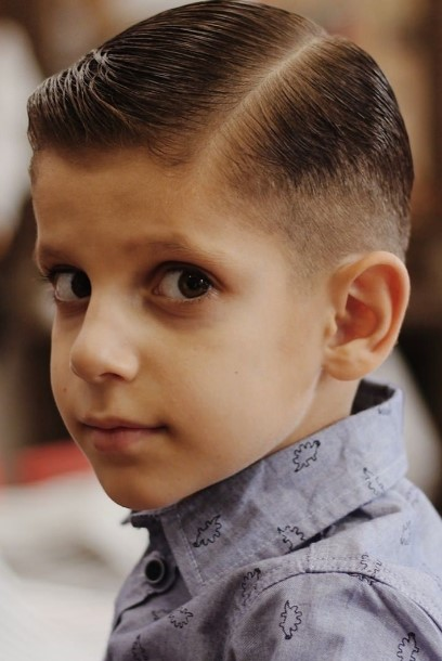 latest hair style for boys