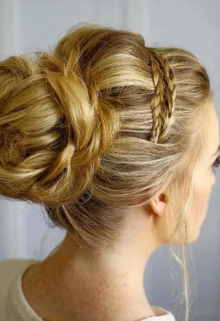 women for long hair style