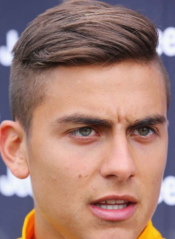 dybala haircut