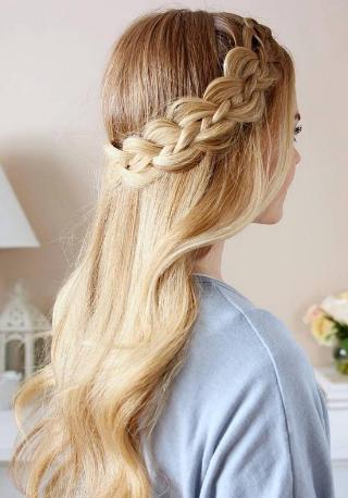 braid dutch hair