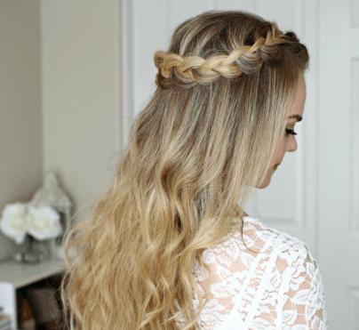 dutuch halo braid