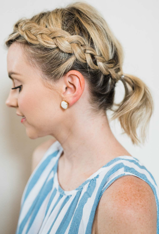 how to braid hair for beginners