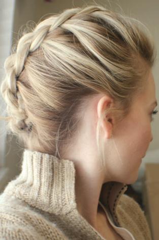 mohawk braid styles