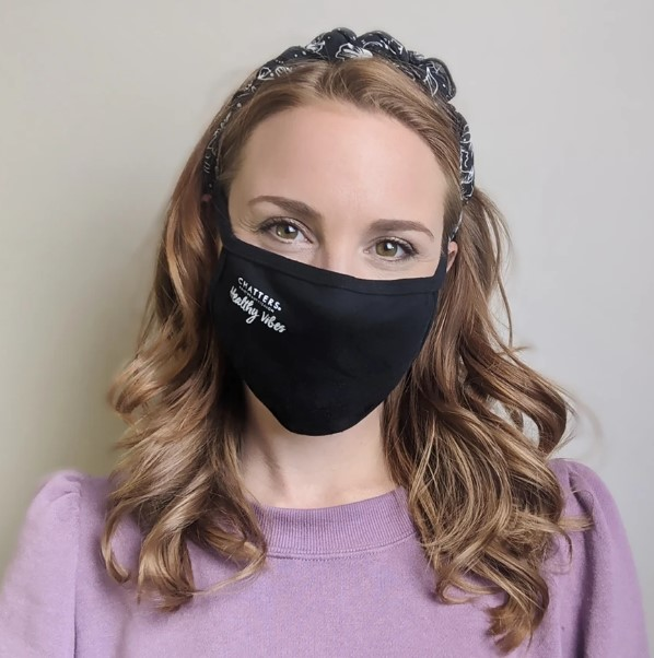 hairstyles with face mask
